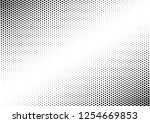 black and white dots background.... | Shutterstock .eps vector #1254669853