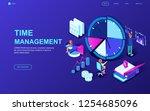 modern flat design isometric... | Shutterstock .eps vector #1254685096