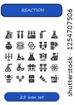vector icons pack of 25 filled... | Shutterstock .eps vector #1254707506