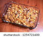 stuffing with beef carrots... | Shutterstock . vector #1254721600