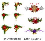 christmas elements for your... | Shutterstock .eps vector #1254721843