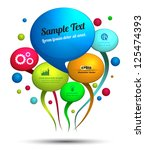 balloon text for promotion | Shutterstock .eps vector #125474393