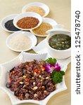 rice dinner set | Shutterstock . vector #125478740