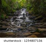 minnihaha falls north georgia... | Shutterstock . vector #1254807136