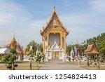 measuring religious faith... | Shutterstock . vector #1254824413