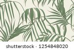 Floral Seamless Pattern  Green...