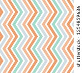 geometric seamless zigzag... | Shutterstock .eps vector #1254859636