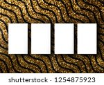 the business card mock up...   Shutterstock . vector #1254875923