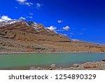 leh ladakh india april 11  ...   Shutterstock . vector #1254890329