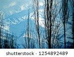 leh ladakh india april 11  ...   Shutterstock . vector #1254892489