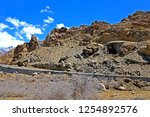 leh ladakh india april 11  ...   Shutterstock . vector #1254892576