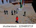 leh ladakh india april 11   the ...   Shutterstock . vector #1254893719