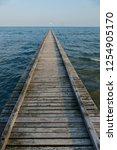 pier dock beach of lido di... | Shutterstock . vector #1254905170