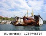 sevastopol  crimea june 13 ... | Shutterstock . vector #1254946519