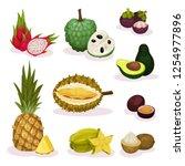 detailed flat vector set of...   Shutterstock .eps vector #1254977896