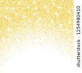 vector gold glitter confetti... | Shutterstock .eps vector #1254980410