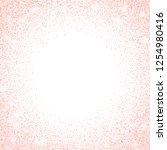 vector gold rose glitter... | Shutterstock .eps vector #1254980416