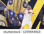 los angeles  dec 9  2018  mike... | Shutterstock . vector #1255043413