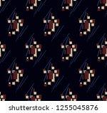 abstract geometry... | Shutterstock . vector #1255045876