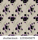 abstract geometry... | Shutterstock . vector #1255045879