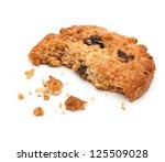 close up of an half eaten... | Shutterstock . vector #125509028