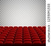 wide empty movie theater...   Shutterstock . vector #1255091533