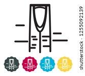 riyadh city icon as eps 10 file | Shutterstock .eps vector #1255092139