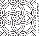 the seamless pattern of... | Shutterstock .eps vector #1255097230