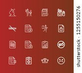editable 16 bad icons for web...   Shutterstock .eps vector #1255150276