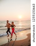 handsome caucasian man and... | Shutterstock . vector #1255153663