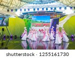 andong   south korea   oct 01   ... | Shutterstock . vector #1255161730