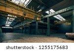 3d factory interior  industrial ... | Shutterstock . vector #1255175683