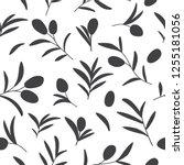 vector decorative seamless... | Shutterstock .eps vector #1255181056