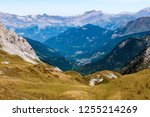 western alps are the western... | Shutterstock . vector #1255214269
