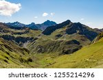 western alps are the western... | Shutterstock . vector #1255214296