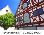 riedlingen is a city in germany ... | Shutterstock . vector #1255225900