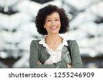 close up portrait of attractive ... | Shutterstock . vector #1255246909