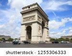 paris  france   july 25  2011 ... | Shutterstock . vector #1255306333