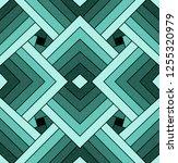 seamless turquoise geometric... | Shutterstock .eps vector #1255320979