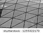 building structures aluminum... | Shutterstock . vector #1255322170
