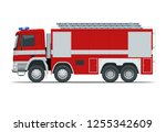 Red Fire Truck  Vehicle Of...