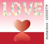 heart and love vector for...   Shutterstock .eps vector #125535779