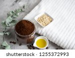 natural ingredients for... | Shutterstock . vector #1255372993