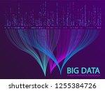 big data statistical methods... | Shutterstock .eps vector #1255384726