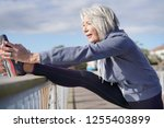Flexible Senior Woman...