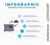 sync  processing  data ... | Shutterstock .eps vector #1255432339