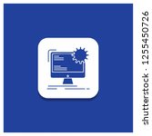 blue round button for internet  ... | Shutterstock .eps vector #1255450726