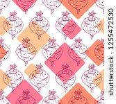 beet seamless pattern   Shutterstock .eps vector #1255472530
