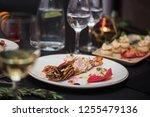 lagustine tartare. tasty...   Shutterstock . vector #1255479136