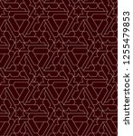 abstract geometric pattern with ... | Shutterstock .eps vector #1255479853